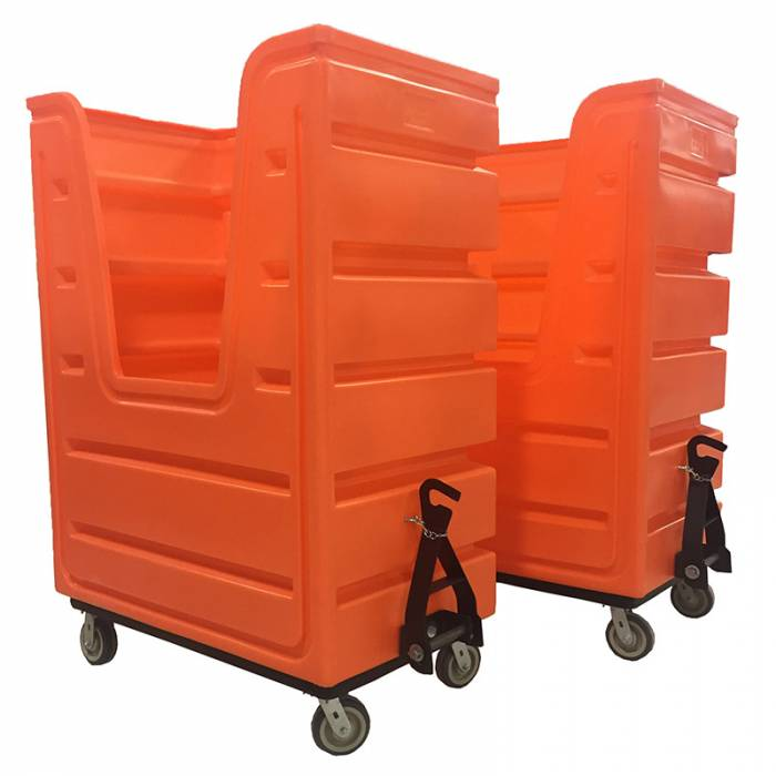 laundry carts with hitches