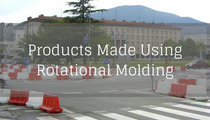 Products made using rotational molding
