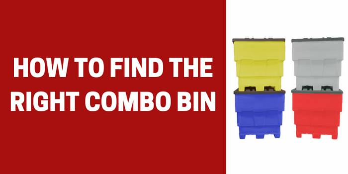 how to find the right combo bin